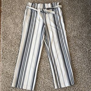 Black and White eclipse White Dressy Pants